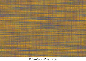 Fabric texture background in grey orange color