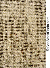 Fabric texture - Background: old woven fabric texture