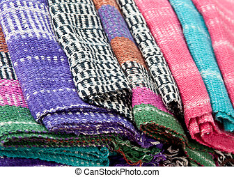 fabric texture .