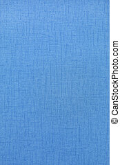 Fabric texture in blue color as background