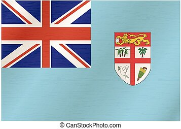 Fabric texture of the flag of Fiji