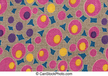 fabric texture with ornament