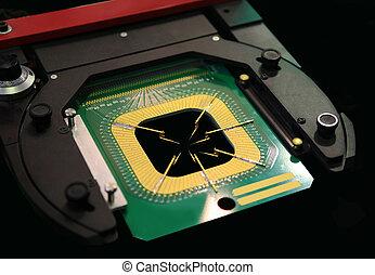 fabricación, microchips