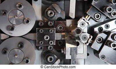 fabrication, bobine source, machine