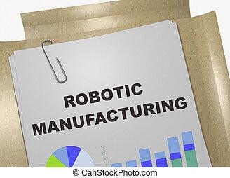 fabrication, concept, robotique
