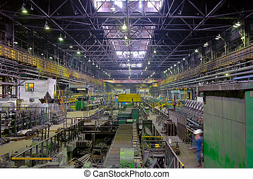 rolling mill in perspective - fabrication mill, rolling mill...