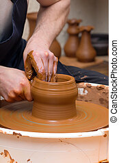 fabrication poterie