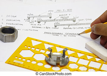 Fabrication schedule concept - many uses in the oil and gas...