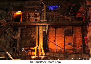 fabriek, zaal