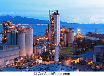 fabrik, cement
