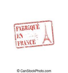 Fabrique En France Stamp