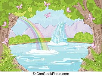 fabuloso, cachoeira