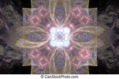 fabulous flower fractal