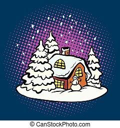 fabulous gingerbread Christmas house