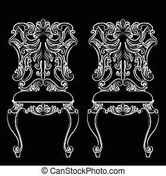 Fabulous Rich Baroque Rococo chair