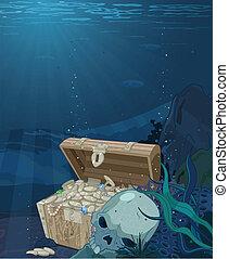 Fabulous treasure - Fabulous scenery seabed treasure
