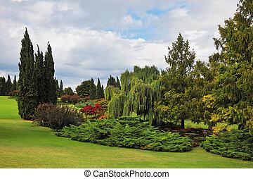 Fabulously beautiful park-garden Sigurta