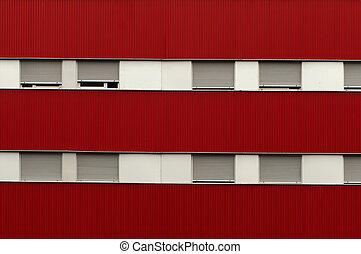 Facade and windows of a building