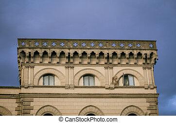 facade building in Florence