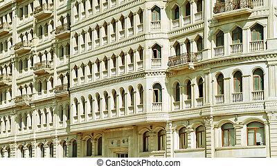 Facade in Baku
