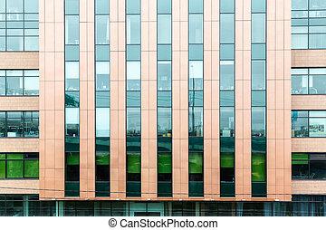 facade modern office building
