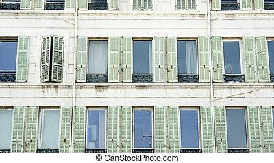 Facade of a building