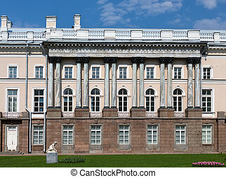 facade of a building in St. Petersburg