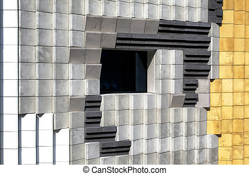 Facade of a design building