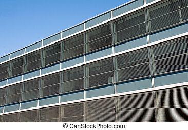 Facade of a factory