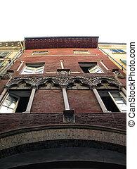 Facade Of A Luxury Apartment Building