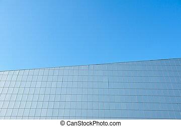 Facade of a modern building.
