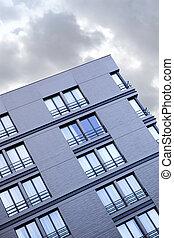 Facade of a modern building