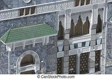 Facade of Al Haram of Al Kaaba