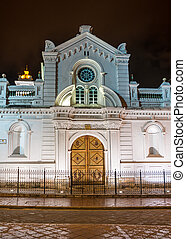 Facade of an old colonial church