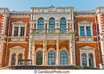 Facade of Ancient Palace