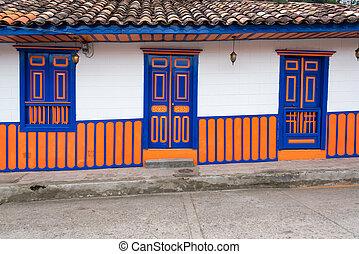 Facade of Colonial Building