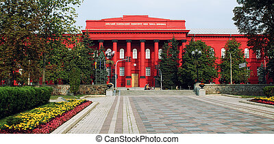 Kiev National University, Ucraine - Facade of Kiev National...