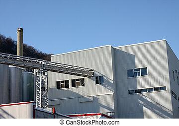 facade of warehouse