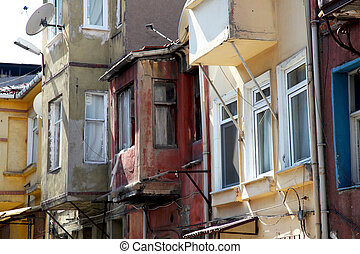 Facade Old Istanbul