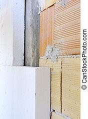 Facade thermal insulation