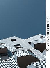 Facades in the city
