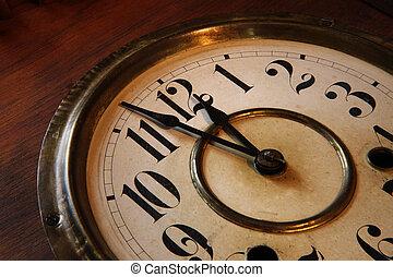 faccia orologio