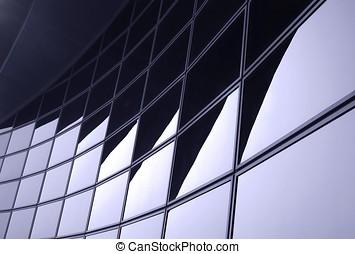 facciata, moderno, corporativo