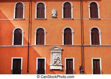 facciata,  Verona