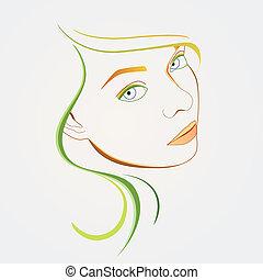 face abstrata