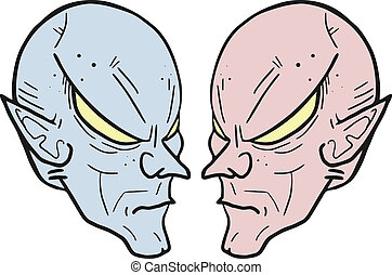 Face alien