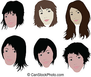 Face and hair