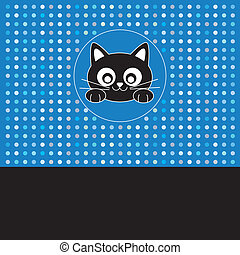 Face boy cat