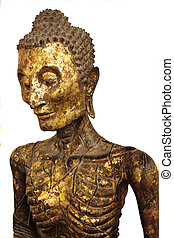 face Buddha Statue of torture