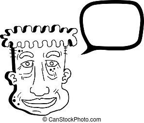 Face cartoon